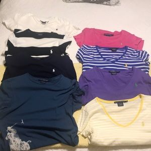 8 size small Polo T-shirt's